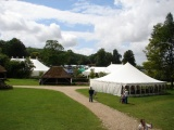 Marquees at the Weald and Downland Museum