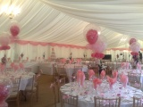 Clearspan Marquee wedding interior
