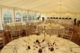 Wedding interior Greyhound Midhurst