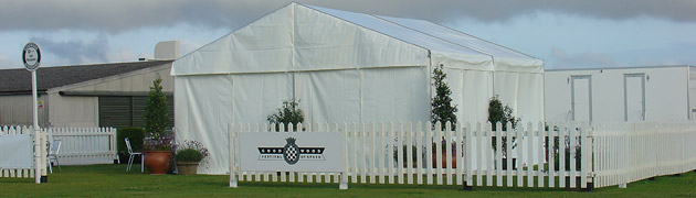 Frame tents from C&G Marquees